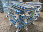 Industrial collapsible mesh wire cage