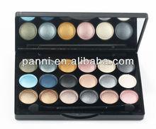 Makeup 18 color Ultra shimmer eyeshadows palette eye shadow case