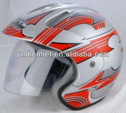 DOT moto helmets open face casco para motocicleta YM-605