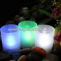 Battery Remote LED Diwali Decoration Diya & White Tea Scented Candle