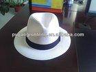 paper straw white high quality custom panama chapeau mens sombrero fedoira hat