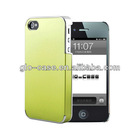 Deluxe Electroplating Hard Case for iPhone 4 4S cellphones accessories for iPhone