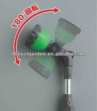 water gun garden wand adjustable Long Nozzle spray gun 9 functions