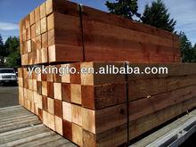 Cedar wood fence post