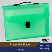 Fashion design plastic stationery file