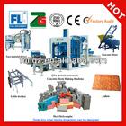 HOT SALE !! New technology model QT4-20 Semi-automatic flyash bricks making machine