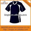 100% algodão 4xl reversível camisola do futebol