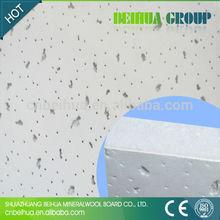 mineral fiber ceiling tile designs for office , school , hospital