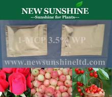 Ethylene inhibitor 1-MCP extend shelf life for fruits