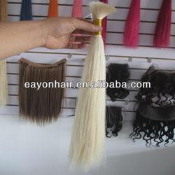Eayon 16 inch 100% brazilian remy virgin human hair bulk