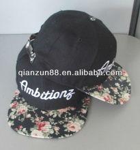 2014 Fashion New Design Embroidered Two Tone Snapback Caps Custom