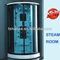 Hs-sr012 ducha de vapor de bañera de hidromasaje, portátil de bañera de hidromasaje, solar de baño de vapor