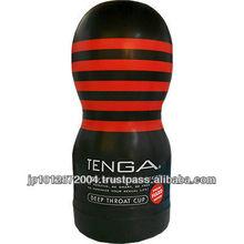 TENGA Black Type Deep Throat Cup adult toys for man masturbation made in Japan