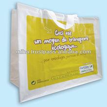 BSCI Factory Beautifull Reusable Plastic foldable Shopping Bag