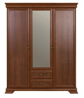 Furniture Bolton Wardrobe with Mirror 3D2S