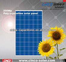 Hot sell class A competitive price 250 watt solar panel,cheap 250 watt photovoltaic solar panel from china
