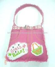 ladies danim hand bag