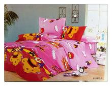 75GSM Microfiber/pigment printed/birds/bedding set