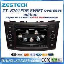 ZESTECH for suzuki SWIFT Car DVD with GPS Navigation,Touch-Screen,Bluetooth,iphone menu,ipod,TV,AM/FM,Multi-languages,Digita