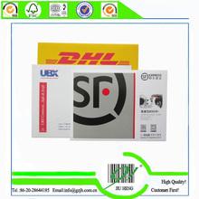 express logistics envelopes printing, cardboard,easy tearing tape