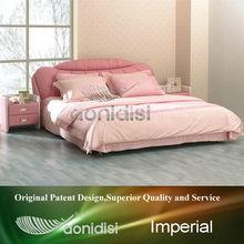 Lovely korean pink queen bed EE1037