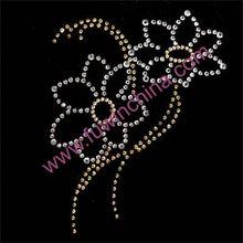 100%QC! 2014 Customized Fashion nail art rhinestones design For Wholesale Rhinestone Heat Transfer