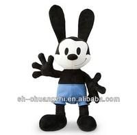 Disney authorised Oswald mickey mouse plush toy wholesale