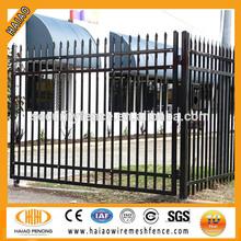 Australia hot sale / high quality steel wrought iron gate design