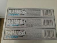 D'AMARIS shaving cream original