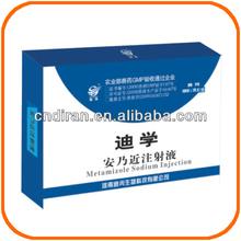 Factory Direct Veterinary Drug Sheep Antibiotics Analgin Injection