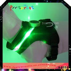 LED light dog clothes wholesale clothing
