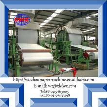 high speed toilet tissue roll paper machine