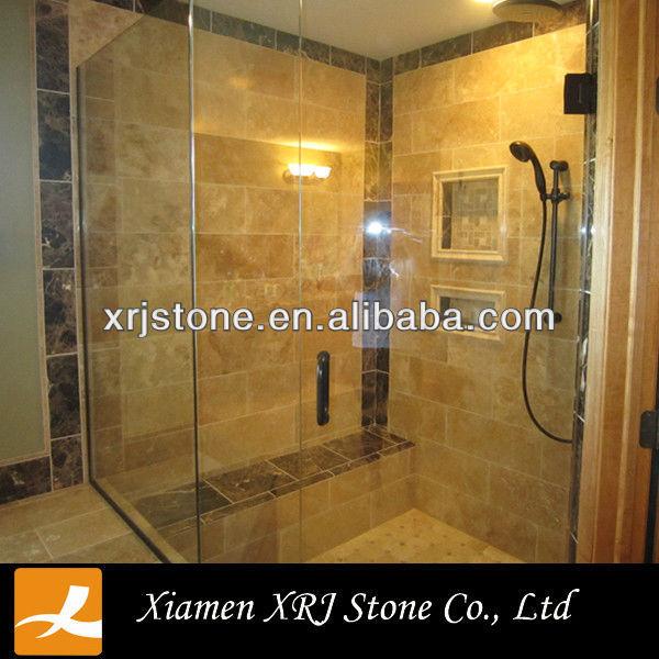 Imitation travertin salle de bains carrelage carreaux de conception Carrelage travertin salle de bain