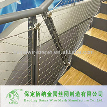 Stainless Steel Rope Mesh Fence for Spain