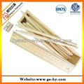 2013 nuevo producto de madera lápiz de color en regla caja del tubo
