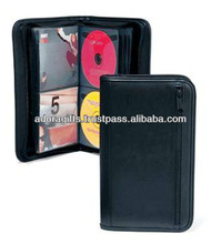 ADACD - 0004 Leather DVD Holder/ DVD Cover/ Multi DVD Holder