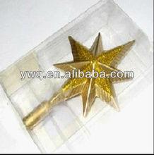 Estrella de la suerte de plástico mortero con maja de plástico