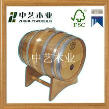 Wooden used oak barrels for sales