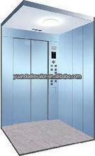 Cargo elevator with elevator gear motor