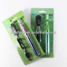 Colourful blister pack no flame e-cigarette ego kit