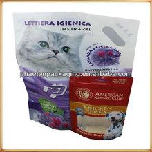 Pet food bag, cat food bag, plastic food packaging