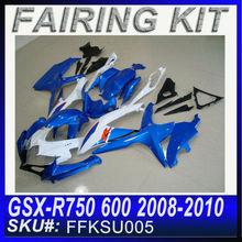 For SUZUKI GSX-R750/600 2008-2010 Fairing Gsx-R 2009 FFKSU005