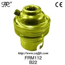 Hot sale! ! ! B22 metal shell lamp base