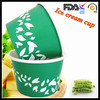 8oz Paper Frozen Food Container With Spoon