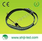PCB Black WS2811 RGB LED Strip Light 144LEDs Individual Addressable 5V