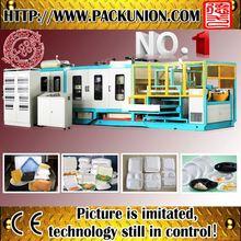 Salable fruit tray making machine
