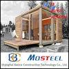 Moblie steel beautiful prefabricated log cabin