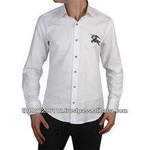 Online Custom Made 100% Cotton Men's Shirt