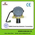 K800 fijo de carbón Gas Detector de fugas de alarma para el combustible y de detección de gases tóxicos aprobación del CE
