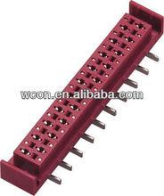 1.27mm M M Female Socket Connector SMT 180